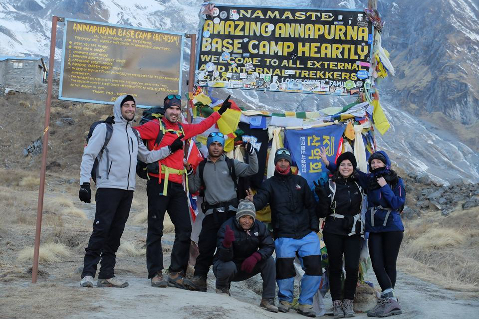 Camp de base de l'Annapurna en 10 jours
