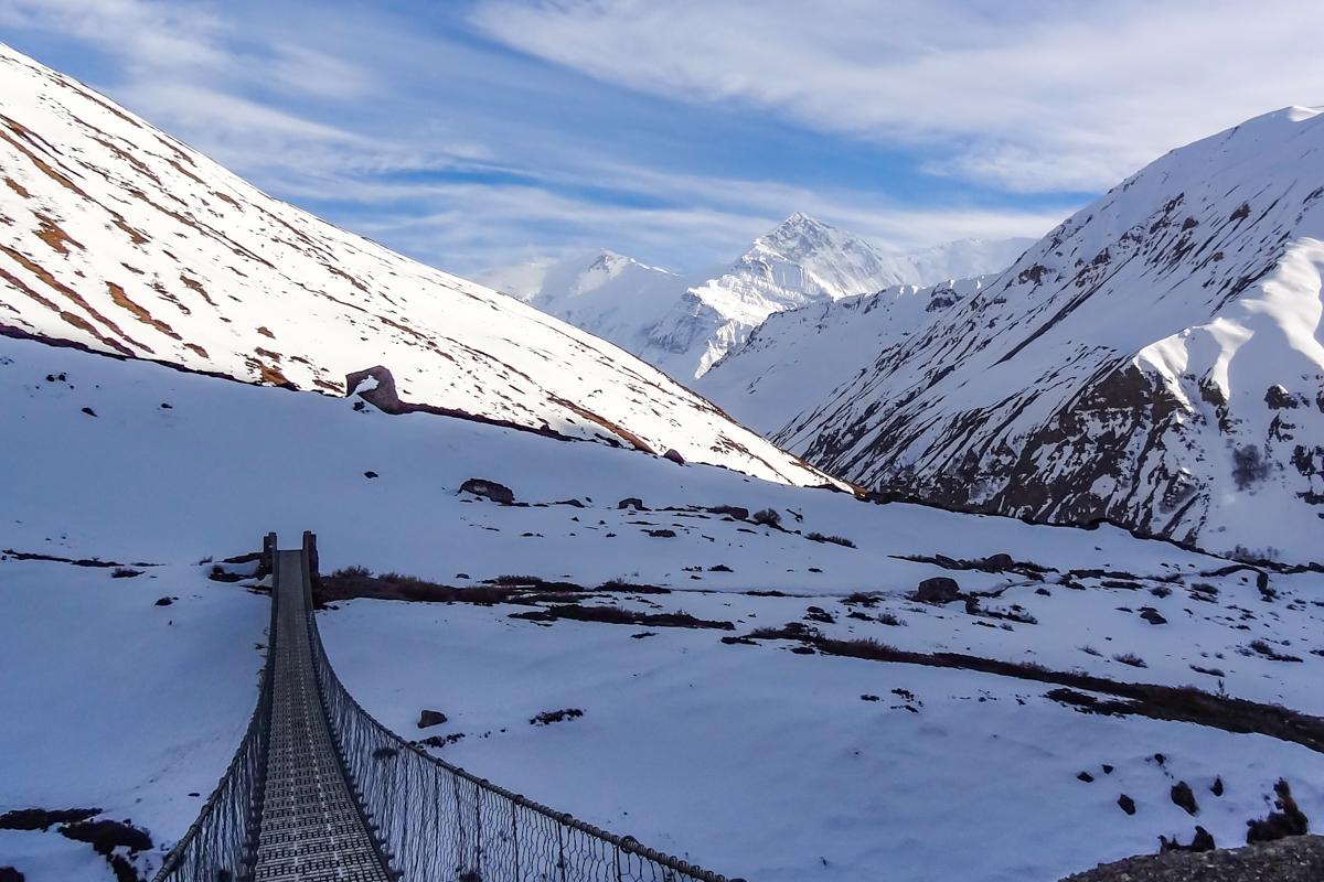 Tour des Annapurnas en terminant à Jomosom en 13 jours
