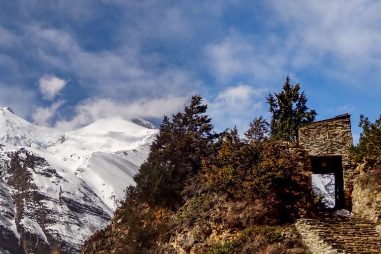 Tour des Annapurnas en terminant à Jomosom en 15 jours