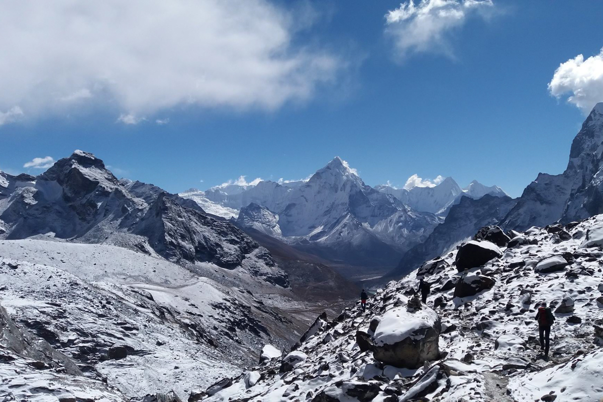 Camp de base de l'Everest depuis Phaphlu en 18 jours