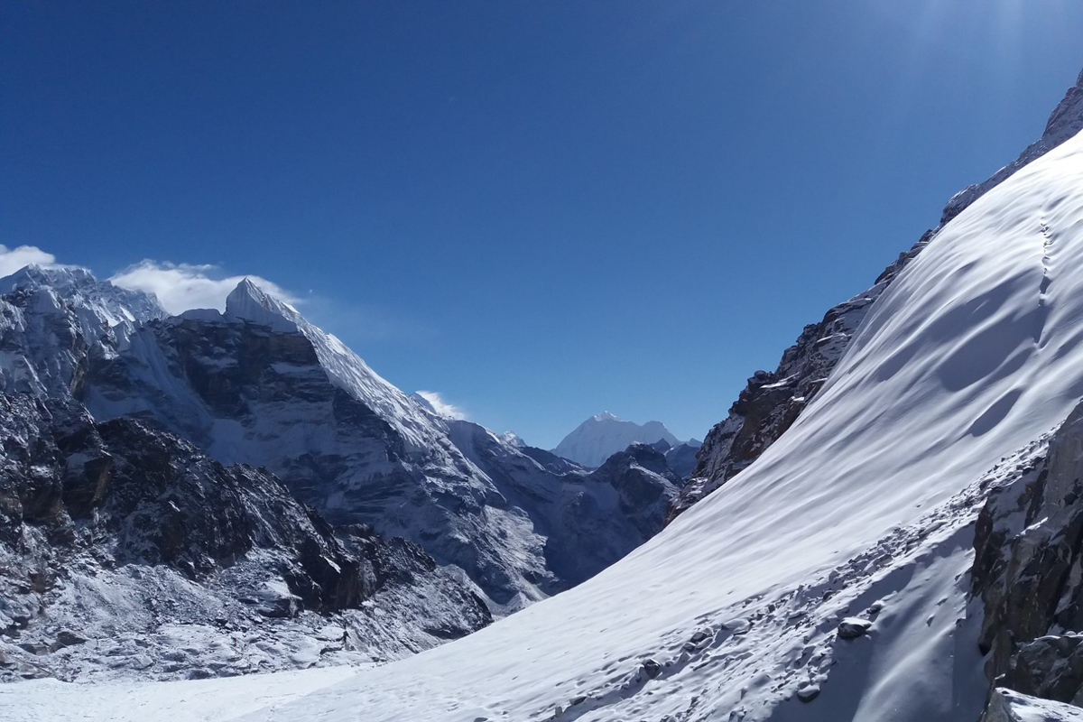 Trek d'Island Peak par le Cho-La Pass et le Camp de base de l'Everest en 19 jours
